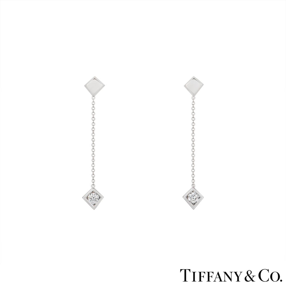 Tiffany & Co. Diamond Drop Earrings